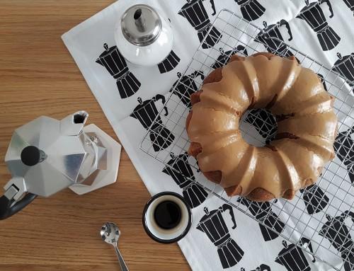 Bundt cake al caffè