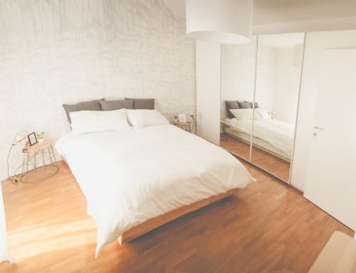 Relax hygge nella camera Nordic
