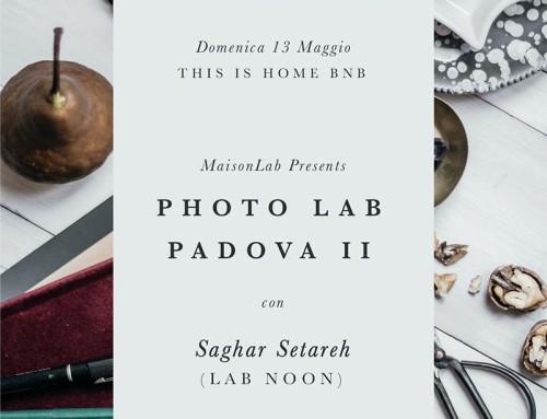Torna Photo Lab Padova: ci vediamo il 13 maggio!