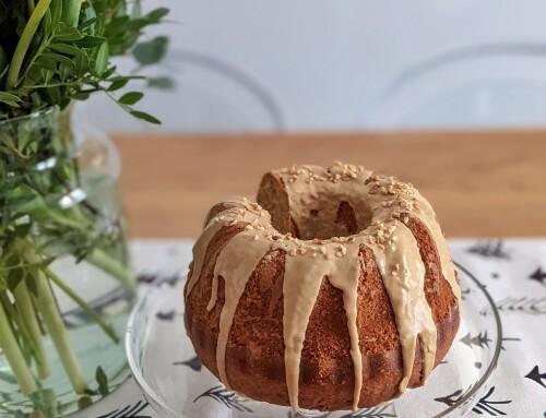 Bundt cake al caffè e nocciole